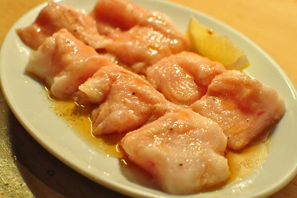 ホルモン焼肉8hachi_塩ホルモン(洗いタレ)
