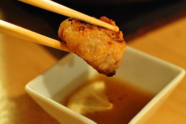 ホルモン焼肉8hachi_塩ホルモン(洗いタレ)_タレ